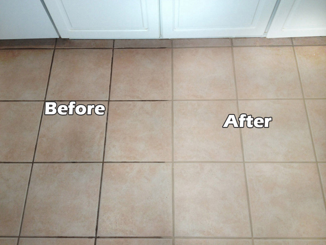 Grout Stain Servicing